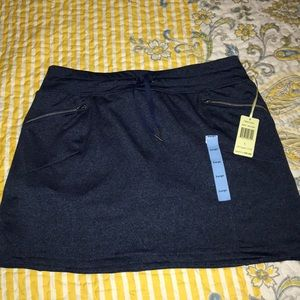 Skorts, Tangerine brand, Heather blue